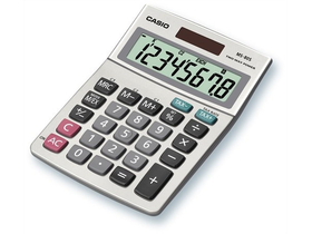 Calculator de masă Casio 8dig. suprafață din metal