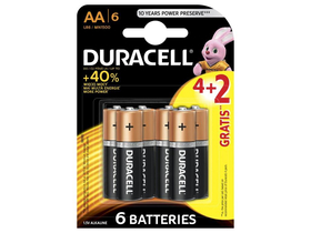 Duracell BSC 4+2 AA