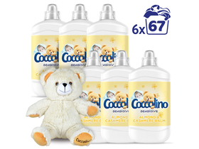 Coccolino Sensitive Almond омекотител, 6x1680ml