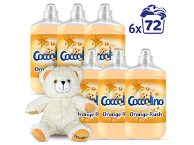 Coccolino Orange Rush омекотител 6x1800ml