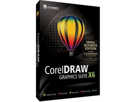 Corel CDGSX6IESBE CorelDRAW Graphics Suite X6 softver, Small Business Edition