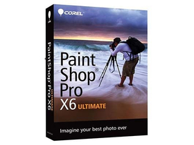 Corel PSPX6ULIEMBEU PaintShop Pro X6 software, Ultimate