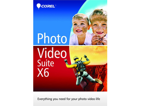 Corel PVSX6IEMBEU Photo Video Suite X6 softver