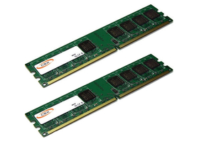 CSX (CSXO-D2-LO-800-4GB-2KIT) Desktop 4GB (2x2GB) DDR2 memória kit