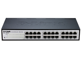 D-Link 24-Port 10/100 Mbps Fast Ethernet Smart Switch (DES-1100-24)