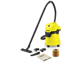 Karcher WD 3 + Suction Brush Kit multifunkcijski suho-mokri usisavač