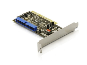 DeLock 89271 2 x intern SATA 6Gb/s 1 x intern IDE PCI karta