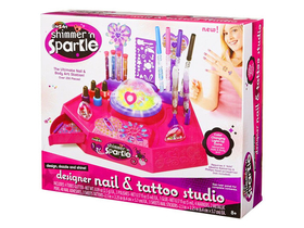 Cra-Z-Art Shimmer 'n Sparkle Nägel und Tattoo Design Studio