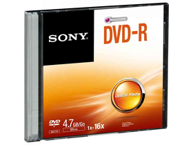 Sony DMR47SS DVD-R 16x optički disk, 4,7GB