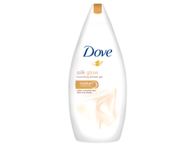 Gel de dus Dove Silk Glow (500 ml)