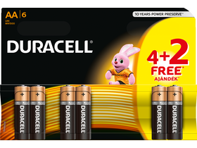 Baterie alcalina Duracell Turbo MAX, AA, 4+2 buc.