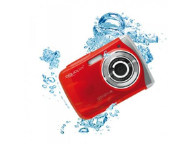 Aparat foto digital, impermeabil Easypix W1024R Splash  (Red)