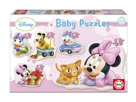 Puzzle Educa Disney Baby Minnie Mouse, 5 in 1