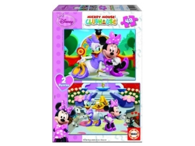 Puzzle Educa Disney Minnie Mouse, 2x48 buc.