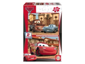 Puzzle Educa Disney Cars, 2x20 buc.