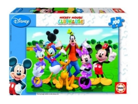 Educa Mickey egér Club puzzle, 100 kusový