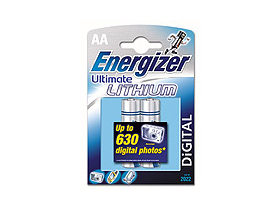 2 buc. baterii Energizer Ultimate Lithium AA