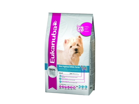 Eukanuba Breed West Highland Terrier suha hrana, 2,5kg