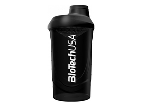 BioTech USA Fekete Wave Shaker, 600 ml