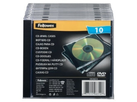 Toc Fellowes 1 CD, black (98310)