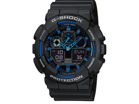 Casio G-Shock Basic мъжки часовник GA-100-1A2ER
