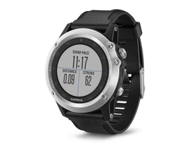 Часовник Smartwatch Garmin Fenix 3, Heart Rate, Сребрист