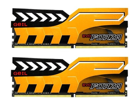 Geil Evo Forza Yellow DDR4 16GB 2400MHz CL16 KIT2 memorija