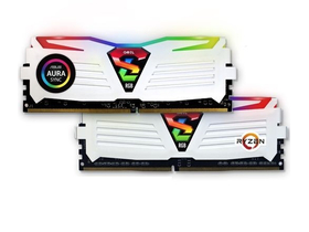 GeIL Super Luce White RGB Sync DDR4 8GB 2400MHz CL16 KIT2 memória