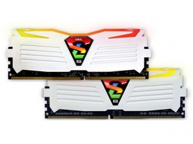 GeIL Super Luce White RGB DDR4 8GB 2400MHz CL16 KIT2 memória
