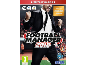 Football Manager 2018 PC hrací softvér