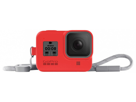 GoPro seeve + lanyard (HERO8 Black) firecracker red (AJSST-008)