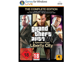 Grand Theft Auto IV: Episodes From Liberty City PC Spielsoftware