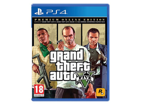 Grand Theft Auto V Premium Edition PS4 Spielsoftware