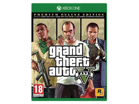 Rockstar Games Grand Theft Auto V Premium Edition Xbox One játékszoftver