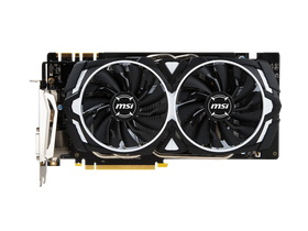Placa video MSI nVidia GTX 1070 8GB GDDR5  - GeForce GTX 1070 ARMOR 8G OC