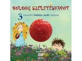 boldog születésnapot dvd Halász Judit   Boldog születésnapot + 1 DVD   3 mesefilm Halász  boldog születésnapot dvd