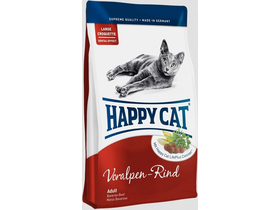 Happy Cat Supreme Fit&Well Adult suha hrana za mačke z okusom goveje, 300 gr