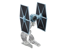 Hot Wheels Star Wars Csillaghajók 2-es csomag, TIE Fighter vs. Millenium Falcon