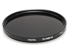 Hoya Pro ND16 filter, 77mm