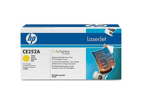 Тонер касета HP Color LaserJet CE252A,жълта