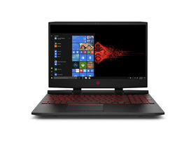 HP OMEN 15-DC0000NH 4TU80EA#AKC gamer notebook, fekete + Windows 10 Home