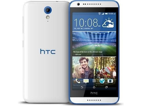 HTC Desire 620 8GB, Gloss White/Blue Trim (Android)