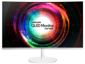 Monitor Samsung LC32H711Q (16:9) curbat LED  Full HD, alb