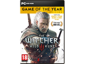 The Witcher III: Wild Hunt Game Of The Year Edition PC játék-[újracsomagolt]