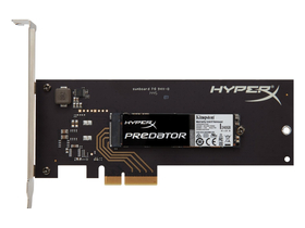 Kingston HyperX Predator 240GB PCIe Gen2 x4 (HHHL) (read/write; 1400/600 MB/s)