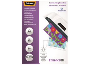 Folie Fellowes A4, 80 microni