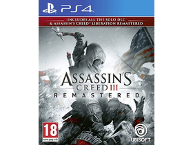 Assasins Creed 3 + Liberation Remastered PS4 hra