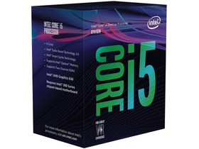 Intel Core i5-8500 3.0GHz box processzor (BX80684I58500)