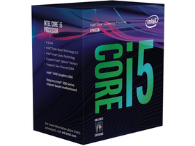 INTEL Core i5-8600K 3,6GHz 9MB LGA1151 BOX CPU