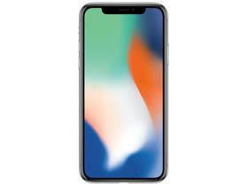 Apple iPhone X 64GB (mqad2gh/a), ezüst